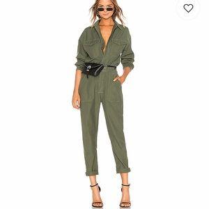 Calvin Klein jumpsuit olive
